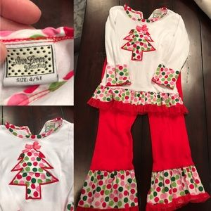 Other - EUC Girls Christmas Outfit